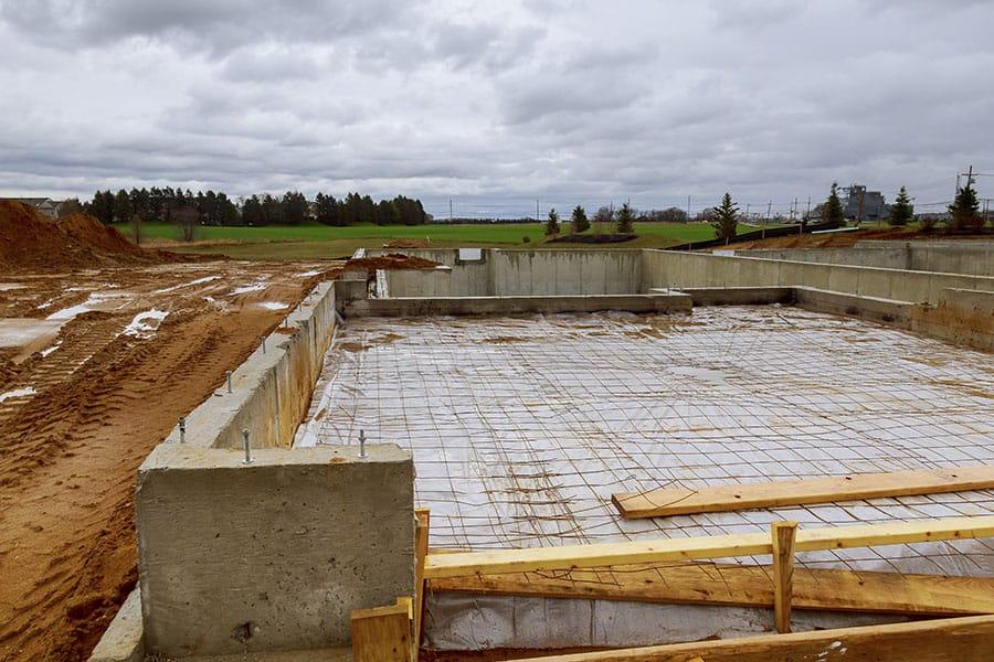 Milyen betont használjunk egy építkezésen?