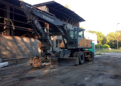 mobil betondaráló gép, épületbontás Budapest