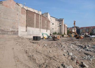 mobil betondaráló gép, Budapest